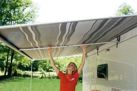 Optional Center Rafter For Fiamma F35 Pro Awnings