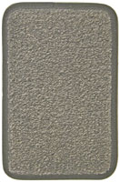 #140 Grey Carpet Floor Mats for 1980 - 1991 Vanagon GL (7 Passenger)