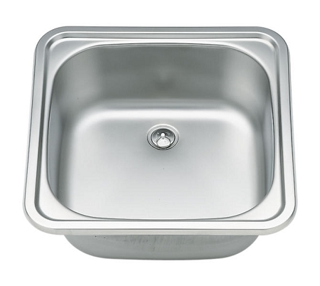 Stainless Steel Camper Sink with trap