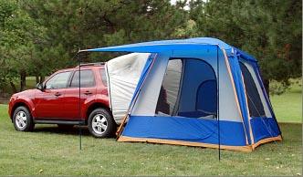 Sportz rear vehicle tent & Sportz by Napier Rear Tent for Mini Vans and SUVs
