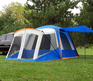 Zoom & Sportz by Napier SUV/Minivan tent with Screen Room