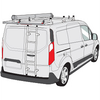 Ford Connect  Rear Door Ladders