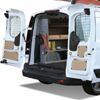 Ford Transit Connect Window Safety Screens