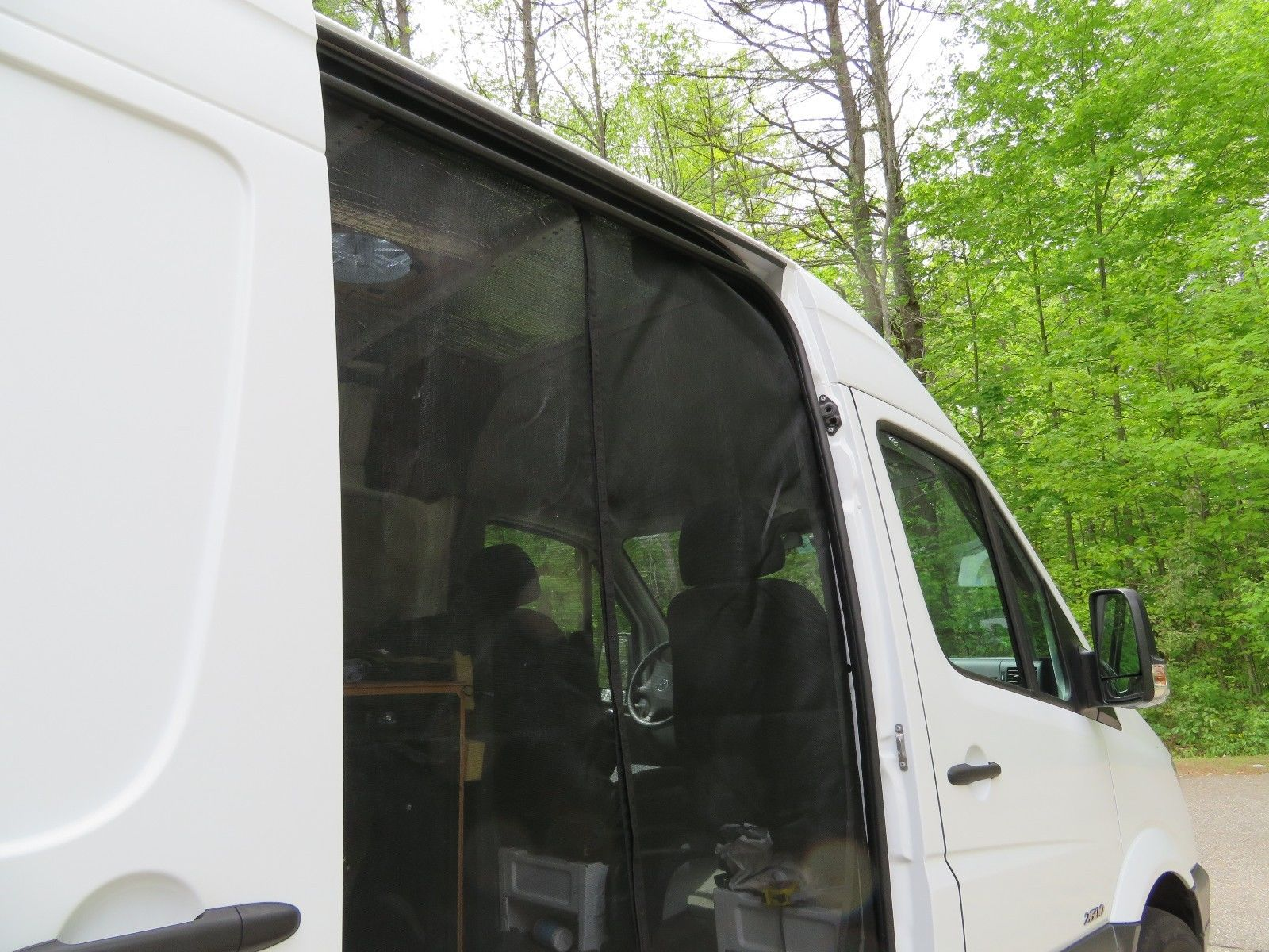 Sprinter Sliding Door Screen Fits Cargo Models Only 2007 And Up
