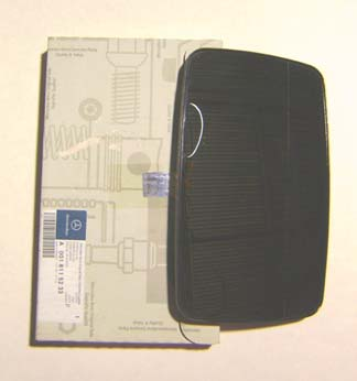 Passenger Side Right Convex Mirror Glass 2001 2006