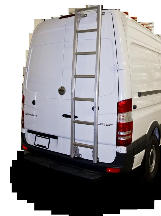 2007 - 2019 Sprinter High Roof Prime Design Aluminum Rear