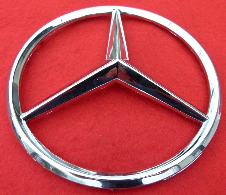 2001 2006 Sprinter Front Grille Logo Mercedes Star