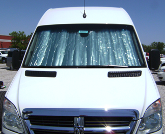 Sunshade for 2014 - 2019 Ford Transit Full Size Van or Wagon 3b3d3c7eca8
