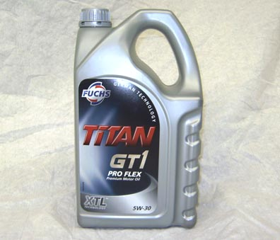 fuchs titan gt1 5w 30 spec synthetic engine oil 5. Black Bedroom Furniture Sets. Home Design Ideas