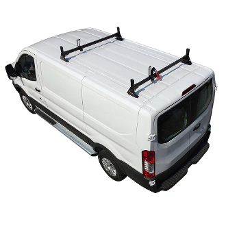 2015 2018 Ford Transit H1 2 Bar Aluminum Low Profile
