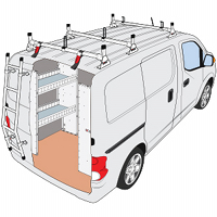 Nissan NV 200 & Chevy City Express Roof Rack Systems