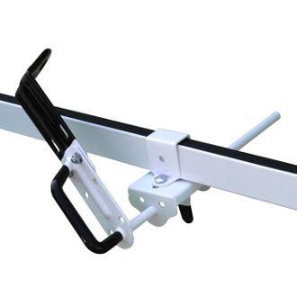 Push To Secure Ladder Holder For Vantech H1 Roof Racks