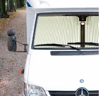 Remi Cab Window Shades for Sprinter