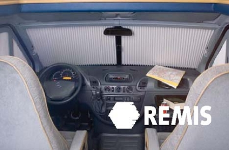 Remi Front III Cab Window Shade System for 2007 - 2018