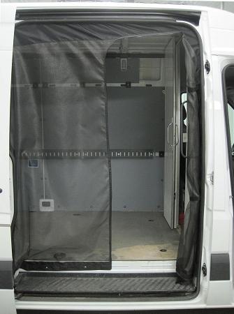 Sprinter Sliding Door Screen Kit 2001 2015 Chassis High