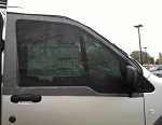 Nissan NV Cab Window Screens