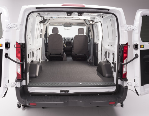 vantred cargo mat for 2015 2018 ford transit 150 250. Black Bedroom Furniture Sets. Home Design Ideas