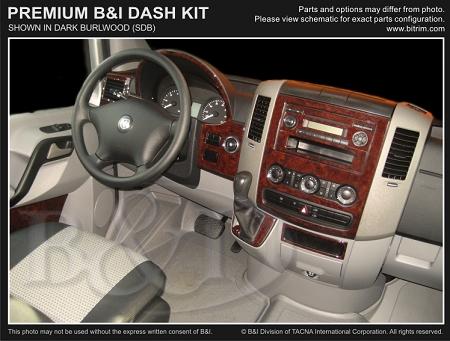 2007 2018 Sprinter 21 Piece Premium Dash Kit