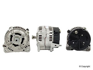 1997 - 2003 EuroVan Camper 150amp Remanufactured Alternator without pulley - Bosch *core charge with one terminal on back