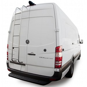 2019 - on Sprinter Rear Ladder - High Roof Driver's Side Rear Door