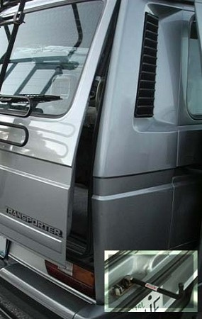 Vanagon Airlock Rear Hatch Lock Extension For 1980 1991