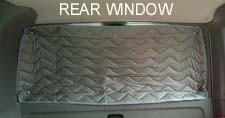 EuroVan Rear Window Insulation - 1pc Fits 1992-2003