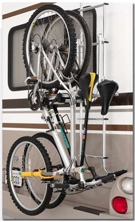 Ladder Mounted Bike Rack