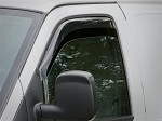 1996 - 2017 Chevy Express & GMC Savana Wind & Rain Deflectors (Light Tint) Free Shipping!