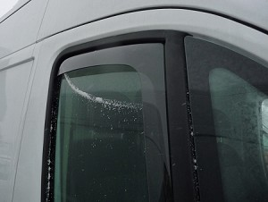 2014 2018 Dodge Promaster Wind Amp Rain Deflectors Dark