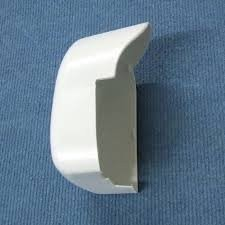 Fiamma F45i Left Side Cover Polar White