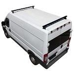 2014 - 2020 ProMaster H3 Style 2 Bar Aluminum Roof Rack w/ End Caps