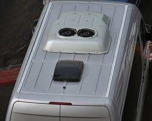 2007 2018 Sprinter Roof Track System For 170 Quot Vans
