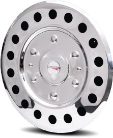 2007 - 2020 Sprinter 2500 1 individual Stainless Wheel Simulator for 16 inch Steel Wheel*
