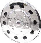 2014 - 2019 Ford Transit Van Set of 4 Stainless Wheel Simulators for 16 inch steel wheels*   B-STOCK