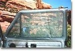 EuroVan Slip-on Front Door Window Screen Set - includes both driver and passenger side screens
