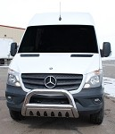 Stainless Bull Bar for 2014 - 2018 Sprinter  **works with orignal factory bumper only *Free Shipping!