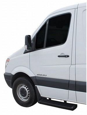 "2003 - 2019 Chevy Express & GMC Savana Van Grip Steps Cab set - two 36"" cab steps - short/short kit for cab chassis models"