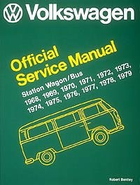 1968 - 1979 VW Bus Factory Repair Manual from Robert Bentley