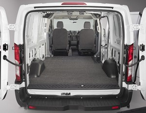 vanrug cargo mat for 2015 2018 ford transit 150 250. Black Bedroom Furniture Sets. Home Design Ideas
