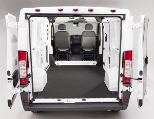 "VanTred Cargo Mat for 2014 - 2017 Dodge ProMaster 118"" & 136"" Wheelbase"
