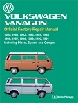 1980 - 1991 VW Vanagon Factory Repair Manual from Robert Bentley