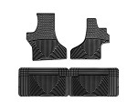1997 - 2013 Ford E Series Van All-Weather Rubber Floor Mats