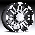 "Warrior 375 16"" Chrome Alloy Wheel for 2007 - 2013 Sprinter 2500"