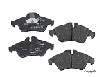 2001-2006 Sprinter OEM Front Brake Pad Set for Ate Calipers (verify before ordering)