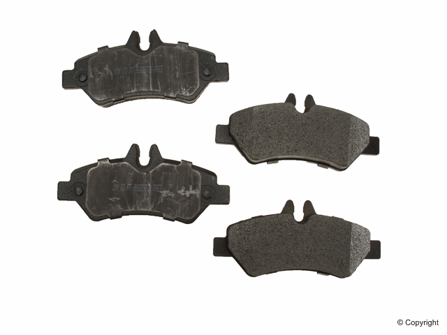 2007 - 2016 Sprinter 2500 Rear OE Brake Pads w/ Sensors