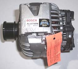 New 2001 - 2006 Sprinter Bosch 150 Amp Alternator for models with 2.7l 5 cyl. diesel engine