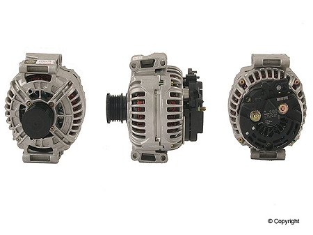 Rebuilt 2001 - 2006 Sprinter Bosch 200 Amp Alternator for models with 2.7l 5 cyl. diesel engine