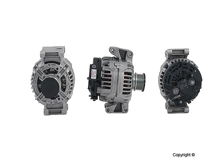 New 2001 - 2006 Sprinter Bosch 90 Amp Alternator for models with 2.7l 5 cyl. diesel engine