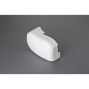 Fiamma F45iL Left End Cover  Polar White