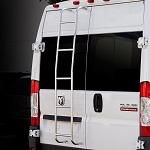 2014 - 2021 Ram ProMaster High Roof Rear Door Ladder, Right Side